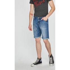 Tom Tailor Denim - Szorty. Szare spodenki jeansowe męskie TOM TAILOR DENIM, casualowe. W wyprzedaży za 99,90 zł.