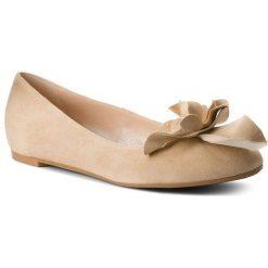 Baleriny GINO ROSSI - Rosa DAH740-279-0020-1700-0 02. Brązowe baleriny damskie zamszowe Gino Rossi. W wyprzedaży za 199,00 zł.
