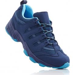 Kozaki trekkingowe bonprix ciemnoniebiesko-turkusowy. Niebieskie buty trekkingowe damskie bonprix. Za 89,99 zł.