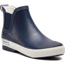 Kalosze GANT - Mandy 17599835 Marine G69. Szare buty zimowe damskie marki GANT, z materiału. Za 269,90 zł.