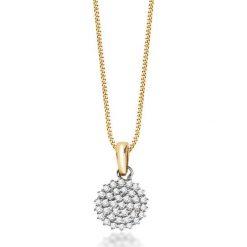 Łańcuszki damskie: Unikalny Wisiorek - , Diament 0,13ct