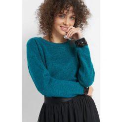 Sweter z cekinami. Zielone swetry klasyczne damskie marki Orsay, s, z dzianiny. Za 99,99 zł.