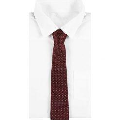 Krawaty męskie: Reiss ISHIA FINE POLKA DOT Krawat bordeaux