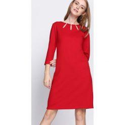 Czerwona Sukienka Proper Date. Czerwone sukienki hiszpanki Born2be, xl, midi. Za 59,99 zł.