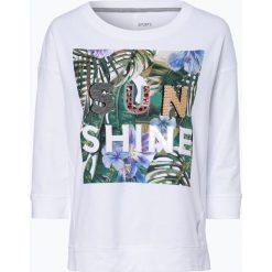 Bluzy rozpinane damskie: Marc Cain Sports - Damska bluza nierozpinana, czarny