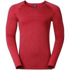 Odlo Koszulka męska Shirt l/s crew neck LIFE czerwona r. L (527472). Czerwone t-shirty męskie marki Odlo, l. Za 199,95 zł.
