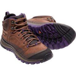 Buty trekkingowe damskie: Keen Buty trekkingowe damskie TERRADORA LEATHER MID WP kolor brązowo-fioletowy r. 41 (TERRADMWLT-WN-SCMU)