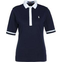 Polo Ralph Lauren Golf TECH  Tshirt z nadrukiem french navy. Niebieskie topy sportowe damskie Polo Ralph Lauren Golf, m, z nadrukiem, z elastanu. Za 479,00 zł.