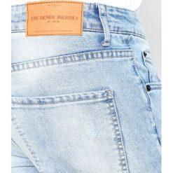 Jeansy męskie regular: Solid DEXTER Jeansy Slim Fit light blue denim