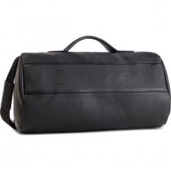 Torba CALVIN KLEIN - Strike Cylinder Duffle K50K504278 001. Czarne torebki klasyczne damskie marki Calvin Klein, ze skóry ekologicznej. Za 649,00 zł.