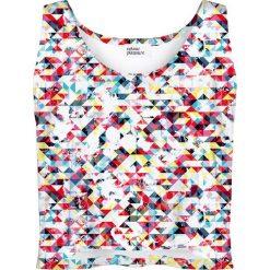 Colour Pleasure Koszulka damska CP-035 16 biało-różowa r. M/L. Białe bluzki damskie marki Colour pleasure, l. Za 64,14 zł.