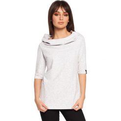 ABBY Bluza z krótkim rękawem i kapturem - stracciatella. Czerwone bluzy damskie marki KALENJI, z elastanu, z krótkim rękawem, krótkie. Za 129,99 zł.