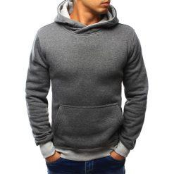 Bluzy męskie: Bluza męska z kapturem antracytowa (bx3016)