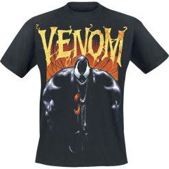 Venom (Marvel) Black Boom T-Shirt czarny. Czarne t-shirty męskie z nadrukiem Venom (Marvel), xxl, z okrągłym kołnierzem. Za 54,90 zł.
