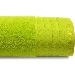 Kąpielówki męskie: Ręcznik w kolorze limonkowym