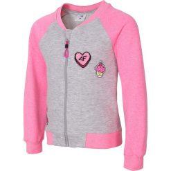 Bluzy dziewczęce: Bluza dla małych dziewczynek JBLD107 – RÓŻOWY MELANŻ