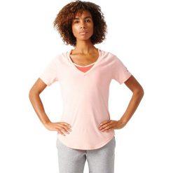 Adidas Koszulka Image Tee różowy r. L. Czerwone topy sportowe damskie marki Adidas, l. Za 99,00 zł.