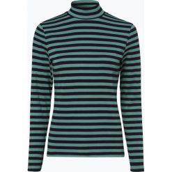 Franco Callegari - Damska koszulka z długim rękawem, zielony. Zielone t-shirty damskie marki Franco Callegari, z napisami. Za 99,95 zł.