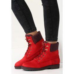 Czerwone Traperki Unutterable Doss. Czerwone buty zimowe damskie vices. Za 89,99 zł.