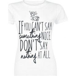 Bluzki asymetryczne: Bambi Thumper Something Nice Koszulka damska biały