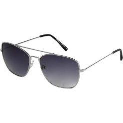 Bicolor Gläser Okulary przeciwsłoneczne czarny/odcienie srebrnego. Czarne okulary przeciwsłoneczne męskie wayfarery marki Bicolor Gläser. Za 32,90 zł.