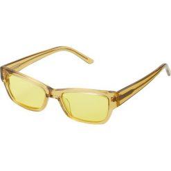 Han Kjobenhavn MOON TRANSPARENT Okulary przeciwsłoneczne yellow. Żółte okulary przeciwsłoneczne damskie lenonki Han Kjobenhavn. Za 569,00 zł.