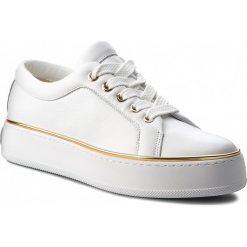 Sneakersy MAXMARA - MM93 45267987600 Bianco 001. Białe sneakersy damskie MaxMara, ze skóry. Za 1609,00 zł.