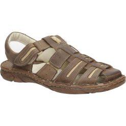 Sandały skórzane Windssor 230. Brązowe sandały męskie Windssor. Za 139,99 zł.