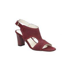Sandały Casu  Sandały skórzane na słupku  1931. Brązowe rzymianki damskie Casu, na słupku. Za 119,99 zł.