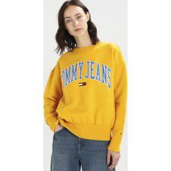Bluzy damskie: Tommy Jeans COLLEGIATE Bluza old gold