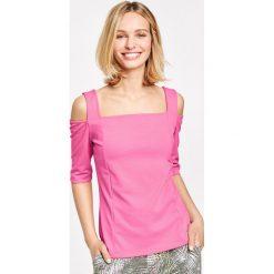 Bluzki damskie: Koszulka z odkrytymi ramionami