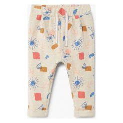 Mango Kids - Spodnie dziecięce Calmia 80-104 cm. Niebieskie rurki dziewczęce marki House, z jeansu. W wyprzedaży za 39,90 zł.