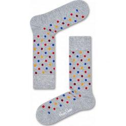 Skarpetki Happy Socks (DOT01-9002). Szare skarpetki męskie Happy Socks, z bawełny. Za 29,99 zł.