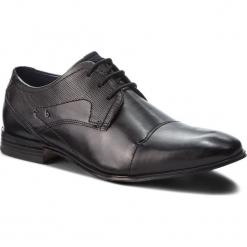 Półbuty BUGATTI - 312-10112-1000-1000 Black. Czarne buty wizytowe męskie Bugatti, z materiału. Za 319,00 zł.
