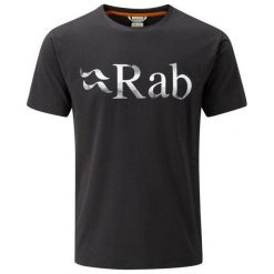 Koszulki sportowe męskie: RAB Koszulka Męska Stance Tee Anthracite r. L (QBT-91-AH)