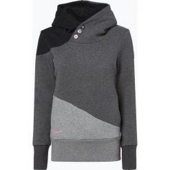 Ragwear - Damska bluza nierozpinana – Chelsea Block, szary. Szare bluzy z kapturem damskie marki Ragwear, l. Za 199,95 zł.
