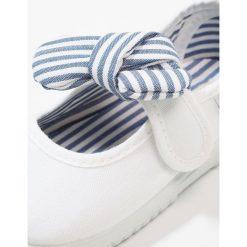 Baleriny damskie lakierowane: Victoria Shoes LONA PANUELO Baleriny z zapięciem blanco