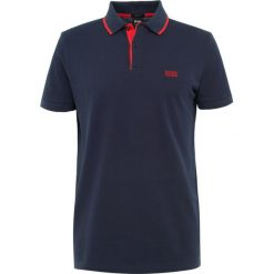 BOSS ATHLEISURE PEOS Koszulka polo navy. Niebieskie koszulki polo marki BOSS Athleisure, m. Za 379,00 zł.