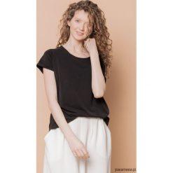 Bluzki, topy, tuniki: T-shirt raglanowy czarny