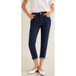 Mango - Jeansy Jack. Niebieskie jeansy damskie relaxed fit Mango. Za 139,90 zł.
