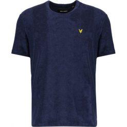T-shirty męskie: Lyle & Scott TOWELLING Tshirt basic dark blue