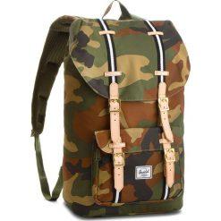 Plecaki męskie: Plecak HERSCHEL – Lil Amer 10014-01832  Woodland Camo/Black/White