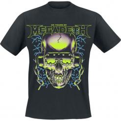 Megadeth 35 Years Electrifying T-Shirt czarny. Czarne t-shirty męskie Megadeth, l. Za 74,90 zł.