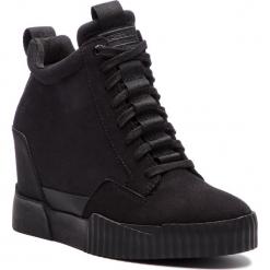 Sneakersy G-STAR RAW - Rackam Core Wedge D10170-A600-990 Black. Czarne sneakersy damskie G-Star RAW, z materiału. Za 609,00 zł.