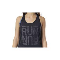 Bluzki sportowe damskie: Topy na ramiączkach / T-shirty bez rękawów Reebok Sport  Koszulka bez rękawów Running ACTIVCHILL Graphic