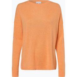Marie Lund - Sweter damski z czystego kaszmiru, pomarańczowy. Brązowe swetry klasyczne damskie marki Marie Lund, l, z dzianiny. Za 449,95 zł.