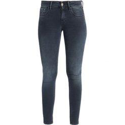 Replay LUZ PANTS Jeans Skinny Fit blue black denim. Niebieskie jeansy damskie relaxed fit marki Replay. Za 559,00 zł.