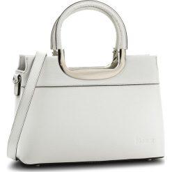 Torebka KAZAR - Savone 32447-01-01 White. Białe torebki klasyczne damskie Kazar, w paski, ze skóry. W wyprzedaży za 529,00 zł.