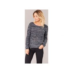 Swetry Only  GEENA MOULINE. Szare swetry klasyczne damskie marki ONLY, s, z bawełny, casualowe, z okrągłym kołnierzem. Za 111,80 zł.