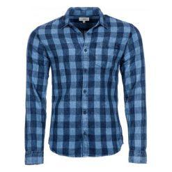 S.Oliver Koszula Męska L Niebieski. Szare koszule męskie na spinki marki S.Oliver, l, z bawełny, z włoskim kołnierzykiem, z długim rękawem. Za 199,00 zł.